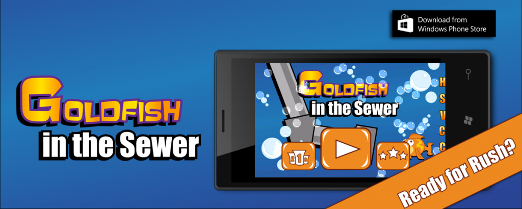 Goldfish in the Sewer Windows appstore