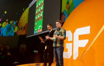 Add Inspiration Presenting Rooster Booster Clicker Game at Games First event by Supercell